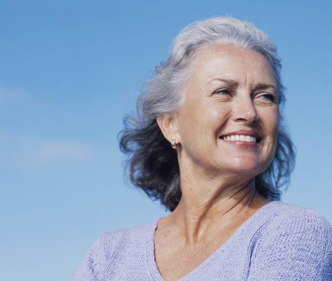 Afbeelding van oudere dame bij artikel over antidepressiva en osteoporose
